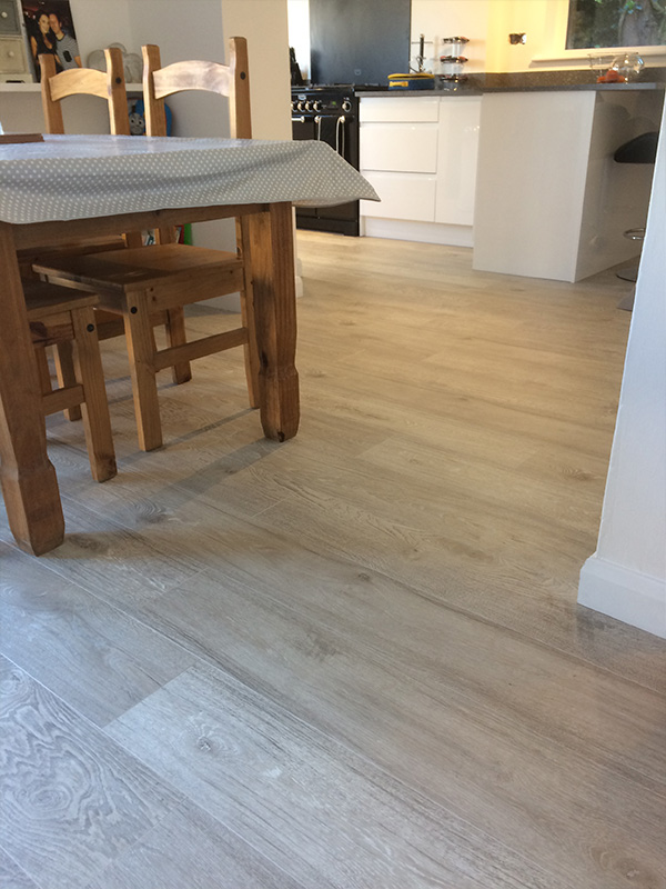 Flooring fitting for James Thomas
